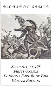 Preview image of Special List 403: Firsts Online, London's Rare Book Fair, Winter Edition