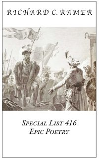 Preview image of Special List 416: Epic Poetry