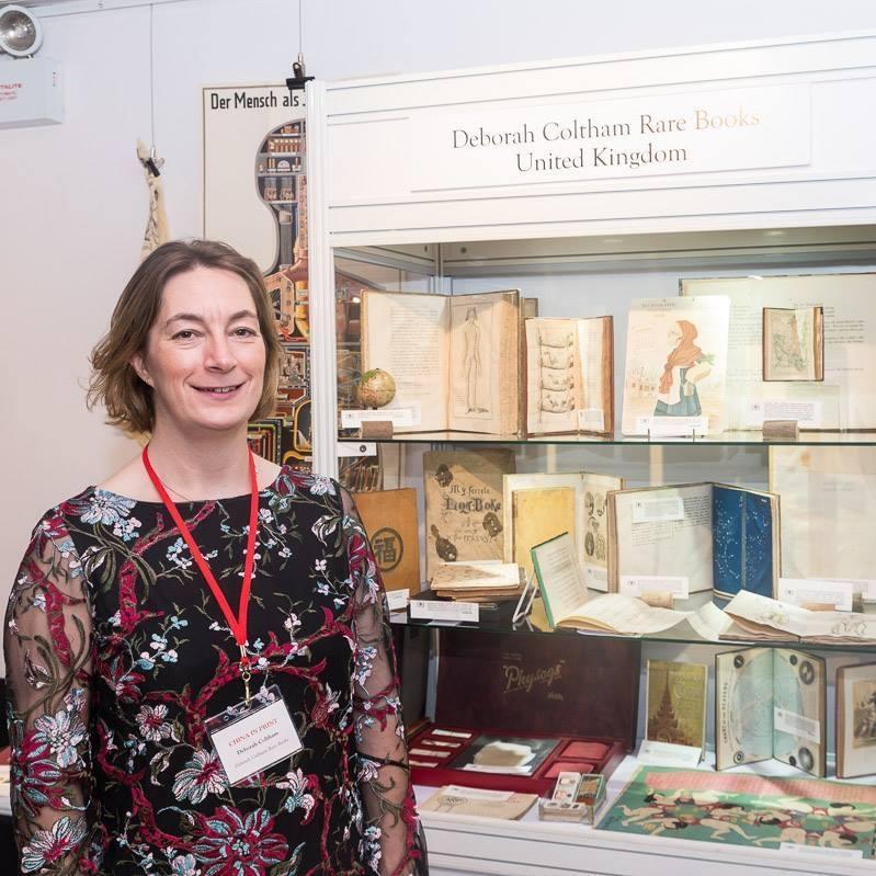 Deborah Coltham Rare Books shop photo