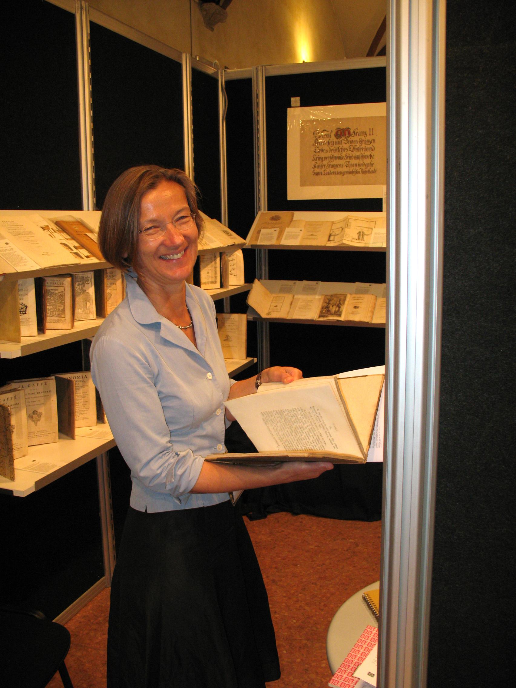 Susanne Schulz-Falster Rare Books shop photo