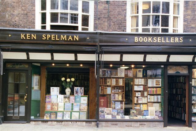 Ken Spelman Books Ltd shop photo